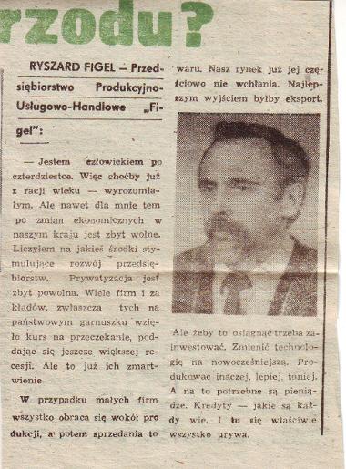 artykul o FIGEL lata 90