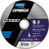 NORTON Tarcza do cięcia 125X1.6X22  METAL:INOX OMEGA