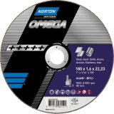 NORTON Tracza do cięcia 125X2.5X22  METAL:INOX OMEGA