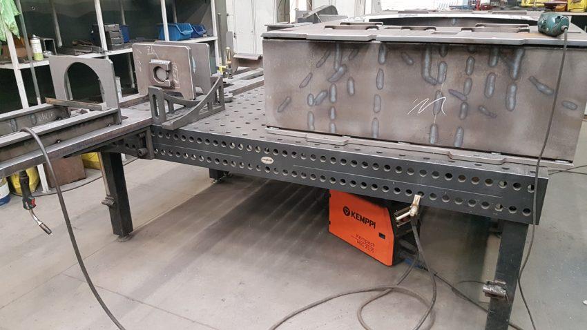 stoły spawalnicze Siegmund u klienta Figel-1