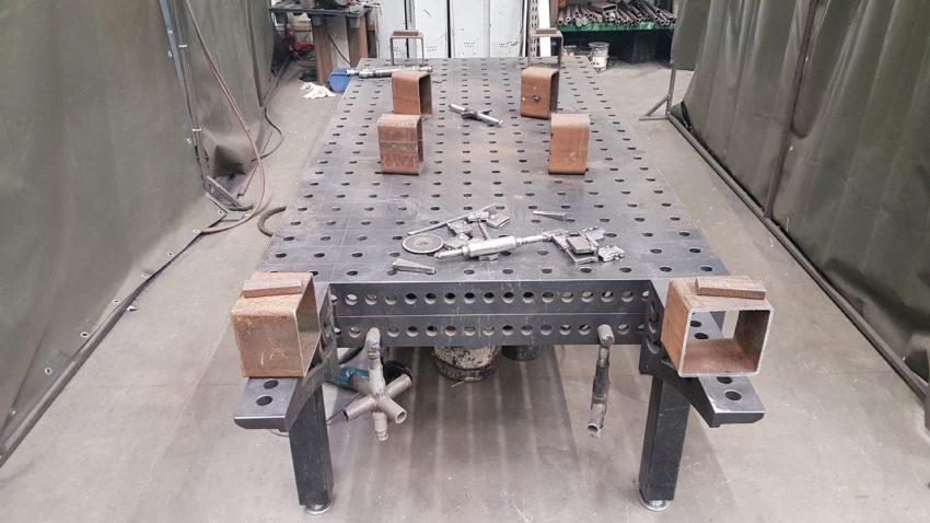 stoły spawalnicze Siegmund u klienta Figel-5