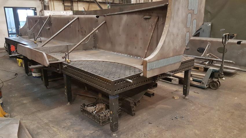 stoły spawalnicze Siegmund u klienta Figel-8